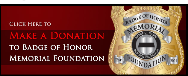 Make a Donation for Fallen Officers